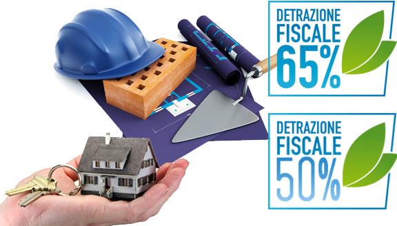 ristrutturazione edilizia, detrazione fiscale, 50% 65%